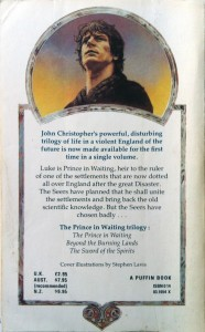 The Prince In Waiting Trilogy Back Cover by Stephen Lavis