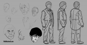 Doctor body sketches