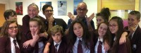 Pupils for MacMillan Academy with writer Niel Bushnell and animator Mark Jobe