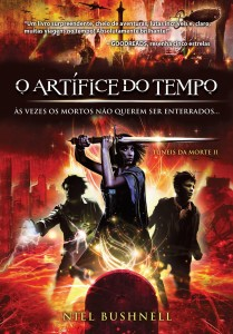 Brazilian edition cover art of Timesmith or O Artifice do Tempo