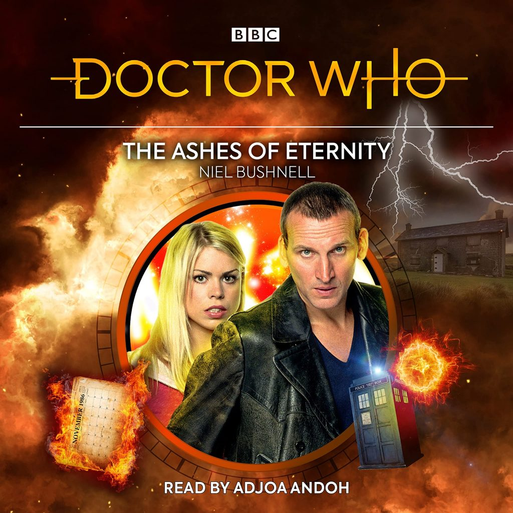 Doctor Who: The Ashes of Eternity cover